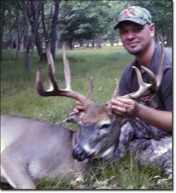 Bronze Whitetail Buck Kill