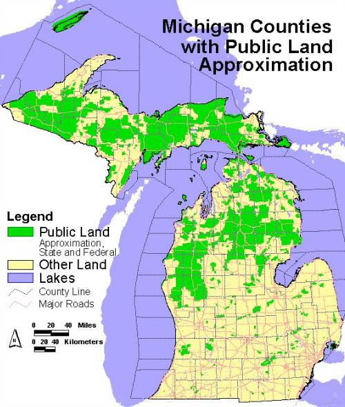 Deer Hunting News For Michigan  Public Lands Deer Car Accidents