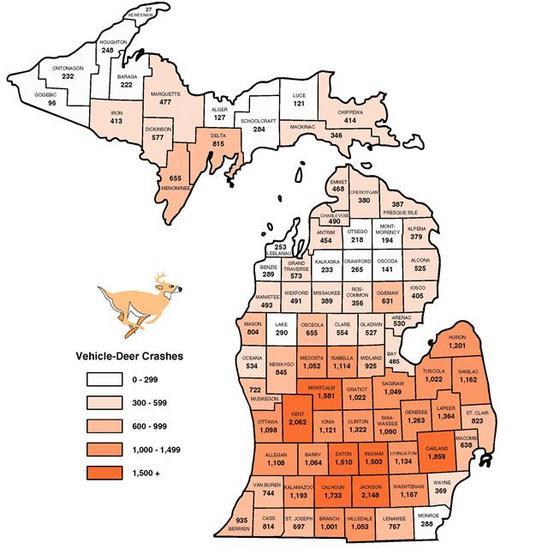 Deer Hunting News For Michigan  Public Lands Deer Car